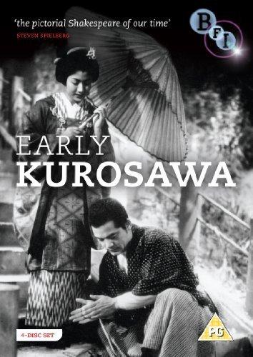 Early Kurosawa Collection - 4-DVD Box Set ( Sugata Sanshirô / Zoku Sugata Sanshirô / Waga seishun ni kuinashi / Ichiban utsukushiku / Tora no o wo fumu otokotac [ UK Import ]