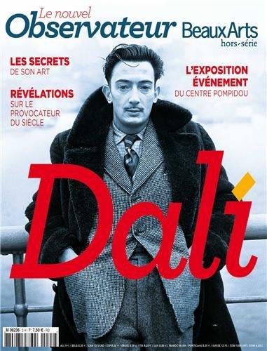 Dali au Centre Pompidou, Le Nouvel Observateur / Beaux Arts, Hors-srie