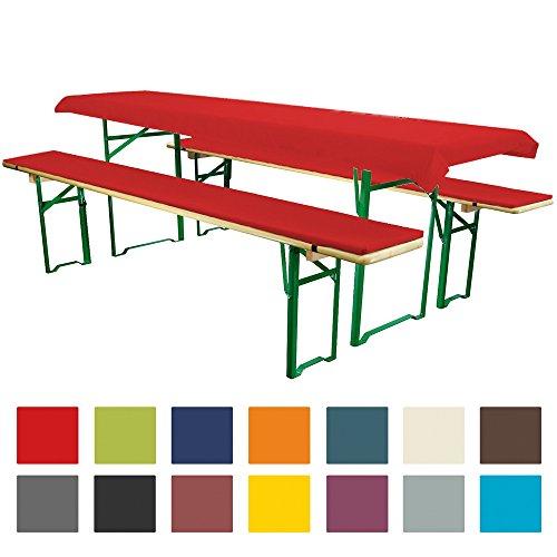 Bierbankauflagen Set 3teilig Comfort Xs Fur 70cm Tische Rot In Husum