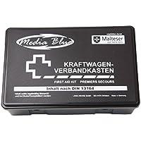 Mediablue Kfz-Verbandkasten Standard, Inhalt DIN 13164, schwarz preisvergleich bei billige-tabletten.eu