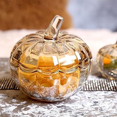 Verre Fruits Ornaments, European Creative Home Decor ameublement, mode Candy Jar Décoration, cadeaux de Tirelire