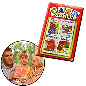CHILDREN'S PLAYING CARDS - FOUR PACK