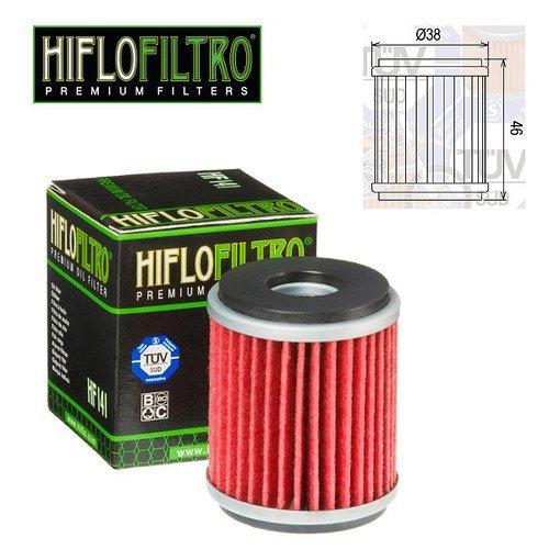 FILTRO OLIO MOTORE HIFLO HF141 PER FANTIC CABALLERO R COMPETITION RACING LC 125 2015