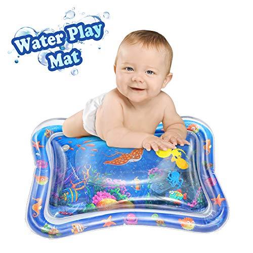 Twister.CK Water Play Mat, Inflable Tummy Time Playmat Juguete sensorial para bebés y niños pequeños, Centro de Juegos Divertidos para el Crecimiento de la estimulación del bebé