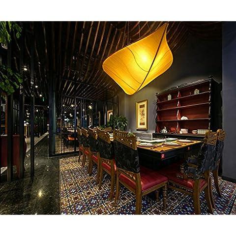WWDP I moderni stoffa nuova casa da tè cinese lampadario
