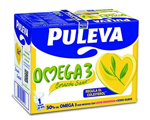 Puleva - Preparado Lácteo Omega 3, Pack 6 x 1 L