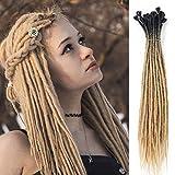 Dreads synthétiques Dreadlock extensions reggae cheveux du népal pour hippie tribal 24 poucesl 24inch
