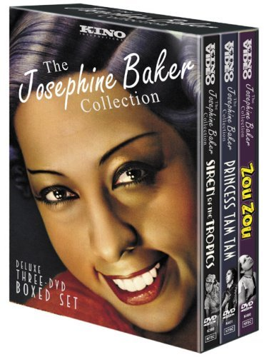 The Josephine Baker Collection (Zou Zou / Princess Tam Tam / Siren of the Tropics) Josephine Baker Video