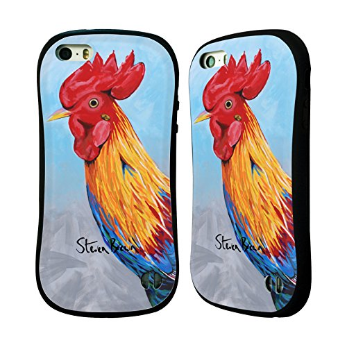 Ufficiale Steven Brown Davy Mcdug Animali Domestici Case Ibrida per Apple iPhone 7 / iPhone 8 Jock Mcburdie