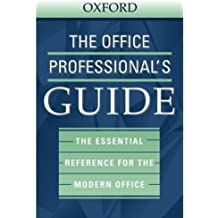 The Office Professional's Guide by Us Dictionaries Group (2003-05-23)