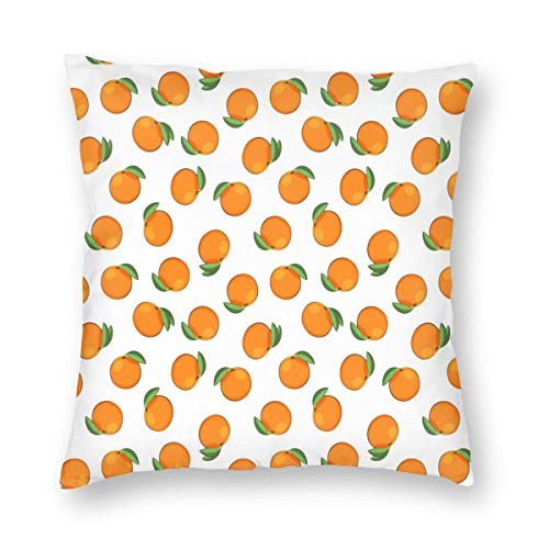 Womens Travel Sleeper (Square Pillow.Clementines On White,Pillow Inserts Square Form Polyester,Standard/Multi-Size.)