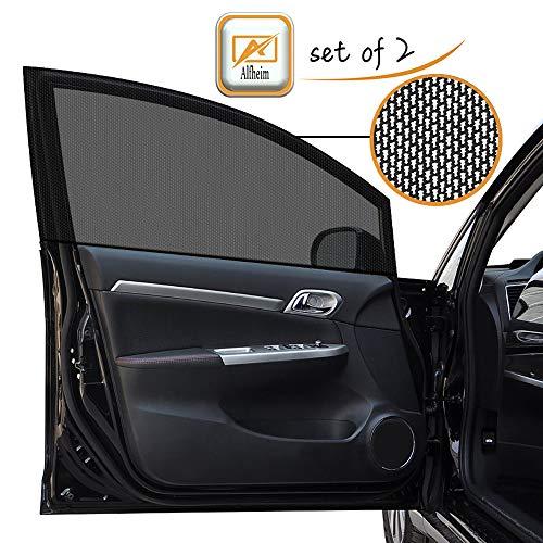 Alfheim 2 Pack Car Side Window Shades Doble capa Malla