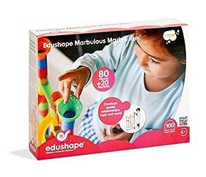 Edushape 805802 Marbellous Marble Run, Multicolor alfonbrilla para ratón