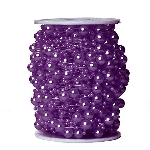 r-Korn-Girlande, die Brautblumenstrauß-Dekoration DIY Tabellen-Mittelstücke Wedding ist 22 # lila ()