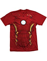Marvel Official T Shirt The Avengers Iron Man Chest Print Sizes