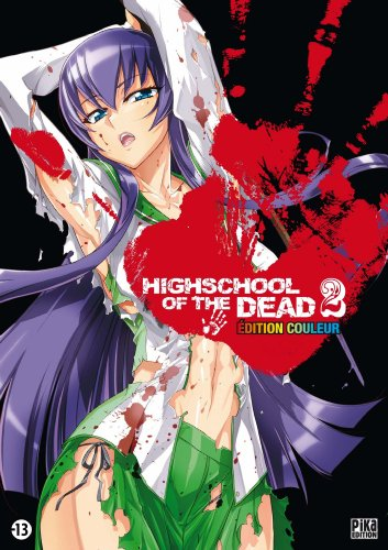Highschool of the Dead Couleur T02