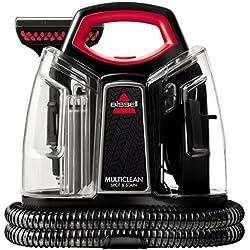 Bissell 4720M Spot & Stain Limpiador de Manchas, 300 W, 2.5 litros, 74 Decibeles, Plastic, Negro, Rojo