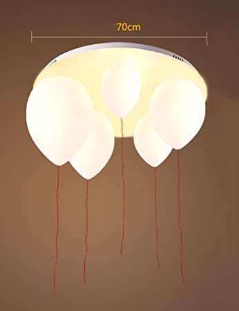 Kreative Personlichkeit Glas Schirm Farbe Ballon Deckenleuchten Wohnzimmer Schlafzimmer Kinderzimmer Eingang Balkon Deckenleuchte Grosse Optional