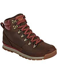 The North Face M Back-To-Berkeley Redux Leather (Trans), Hombre Botas de protección, Marrón, 45 1/2