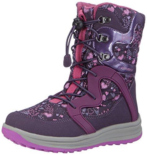 GeoxJ ROBY B GIRL ABX B - Scarponi da neve imbottiti, a mezza gamba Ragazza , Viola (Violett (C8267VIOLET/PURPLE)), 30