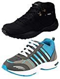 #9: Maddy Combo pack of 2 Sport Shoes For Men In Various Sizes