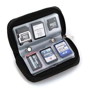 Étui pour cartes mémoire SD avec 22 pochettes