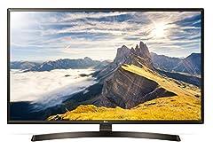 """LG 49 UK 6400 PLF - 124.46 cm (49 \"""") 4K Ultra HD LED Smart TV, 3840 x 2160, DVB-T2/C/S2, CI+ 1.4, HDR/HDR10 Pro, Web OS 4.0, 20W RMS, Wi-Fi, Bluetooth, LAN, 3x HDMI, 2x USB, Classe A, 118 kWh/annum, 12.4kg. LG 49 UK 6400 PLF - 123 cm 49 Zol ..."""