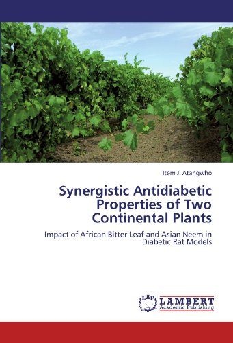 Synergistic Antidiabetic Properties of Two Continental Plants: Impact of African Bitter Leaf and Asian Neem in Diabetic Rat Models -