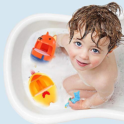 Jiang Hui Badewannenspielzeug,Blase Badespielzeug Seifenblasenmaschine Musik Bubble Machine Spielzeug Wasserspielzeug Automatisch-Sprühen Für Kinder