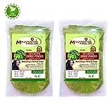 #9: Indigo Powder For Hair | Herbal Hair Color Combo | 100% Pure Neel Powder Pack of 2 X 100 g by Malvaniya Herbal Care
