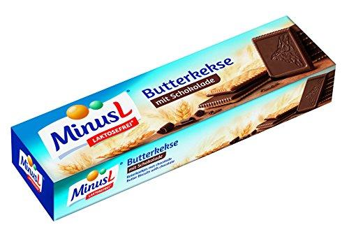Minus L - Butterkekse mit Schokolade - 125 GR