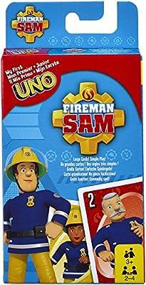 Mattel Games FMW18 UNO Junior Feuerwehrmann Sam