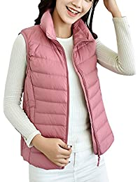 893b4c86c03c ZhuiKun Women s Down Gilet Coat Vest Ultra Light Weight Packable Puffer  Jacket