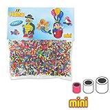 Sortiment von Hama Bügelperlen Mini 48 couleurs x7500