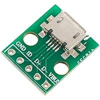 DaoRier MICRO USB para inmersión tipo B hembra Mike 5p