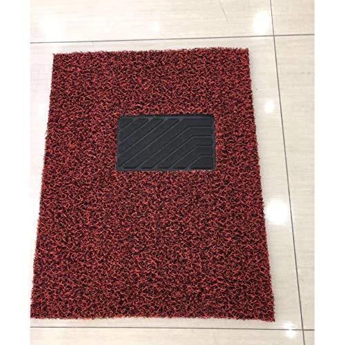 PVC Tapis Auto - Sur Mesure - Tapis de sol pour Voiture - 3 Pièces - Antidérapant - Anneau de fusible chaud crypté,C