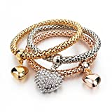 Best Inspired Silver Bracelets - Hot And Bold Gold Plated Multi-Strand Bracelet Review
