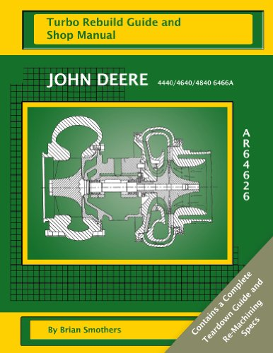 john-deere-tractor-4440-4640-4840-6466a-ar64626-turbo-rebuild-guide-and-shop-manual-english-edition
