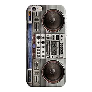 Kawach Case/Back Cover for Apple iPhone 6 Plus/6S Plus - Fake Vintage Boom Box Print Case