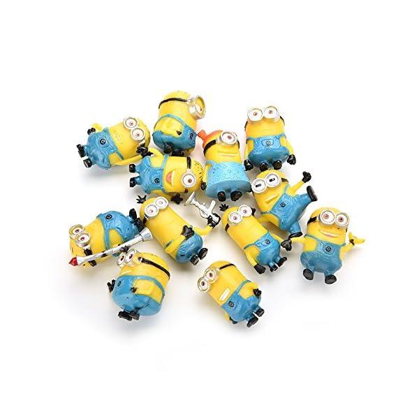 Bestim Incuk - Figuras de acción de Minions de la película Gru 2: Mi Villano Favorito 4