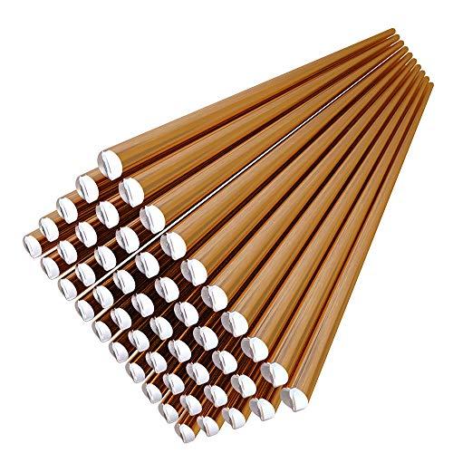 KKmoon 50pcs 70S-6 Electrodo de soldadura de alambre sólido 1.6mm * 330mm de acero dulce CO2 Ar Soldador de varilla No necesita polvo de soldadura