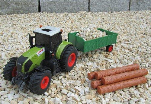 RC Traktor CLAAS Hänger & Zubehör 36cm 1:28 Bulldog