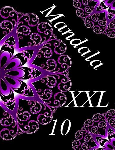 Mandala XXL 10: libro para colorear para adultos