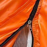 eyepower Wurfzelt BELLE 2 Personen Popup-Zelt | Campingzelt 245x145x100cm | Sekundenzelt mit Zubehör | Inkl. Tragetasche Spannseile Heringe | Automatik-Zelt in Orange -