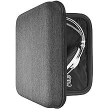 Headphones Case for AKG K701,K702,Q701,Sennheiser HD800,HD600,HD650 and More/ Headphone Carrying Case/Auriculares Bolsa de Viaje/Estuche