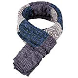 Generic Fashion Mens Winter Scarf Cotton Woolen Cashmere Scarf - grey, One Size