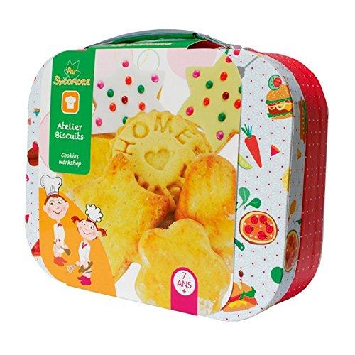 Au Sycomore Im Sycamore–cre9030–Freizeit Kreative–Atelier de Küche für Kinder, mit Zubehör und Rezepte–Kekse