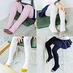 RUOHAN Kinder Socken 5 Paar Kinder Socken Herbst Und Winter Kinder Strumpfhosen Baumwolle Frühling Und Herbst Mädchen Leggings Baby Kinder Socken