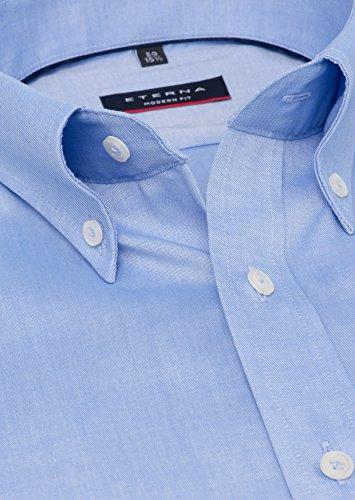 Michaelax-Fashion-Trade -  Camicia classiche  - Basic - Con bottoni  - Maniche lunghe  - Uomo Blu (12)