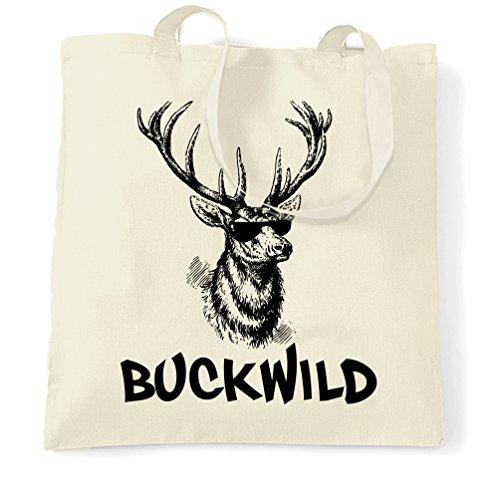 Buckwild Renna Sacchetto Di Tote Natural